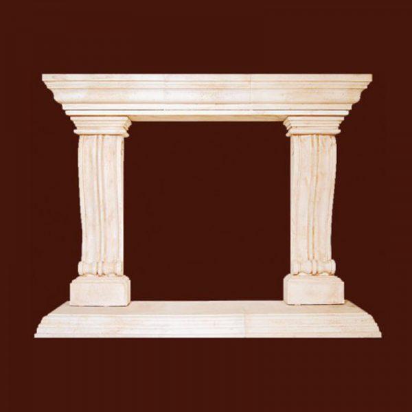 Casa Bella Stone Fireplace Mantel | National Home Comfort