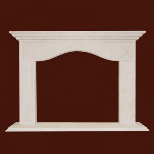 Chateau Stone Fireplace Mantel | National Home Comfort