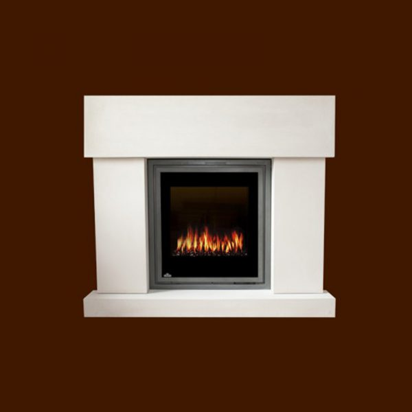 Greenich Village Stone Fireplace Mantel | National Home Comfort
