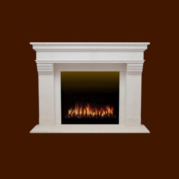Modana Stone Fireplace Mantel | National Home Comfort