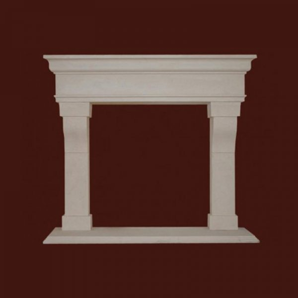 Monte Bello Stone Fireplace Mantel | National Home Comfort