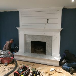 NFAS Custom Mantel Design Millwork | National Home Comfort