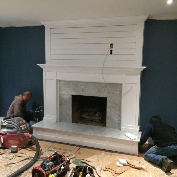 NFAS Custom Mantel Design Millwork | National Home Comfort
