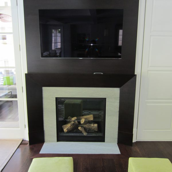 NFAS Custom Mantel Design II Millwork | National Home Comfort