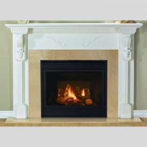 NFAS NF100 Wood Fireplace Mantel | National Home Comfort