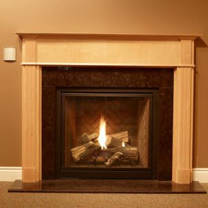 NFAS NF23 Wood Fireplace Mantel | National Home Comfort