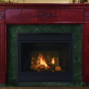 NFAS NF27 Wood Fireplace Mantel | National Home Comfort