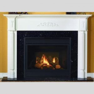 NFAS NF3 Wood Fireplace Mantel | National Home Comfort