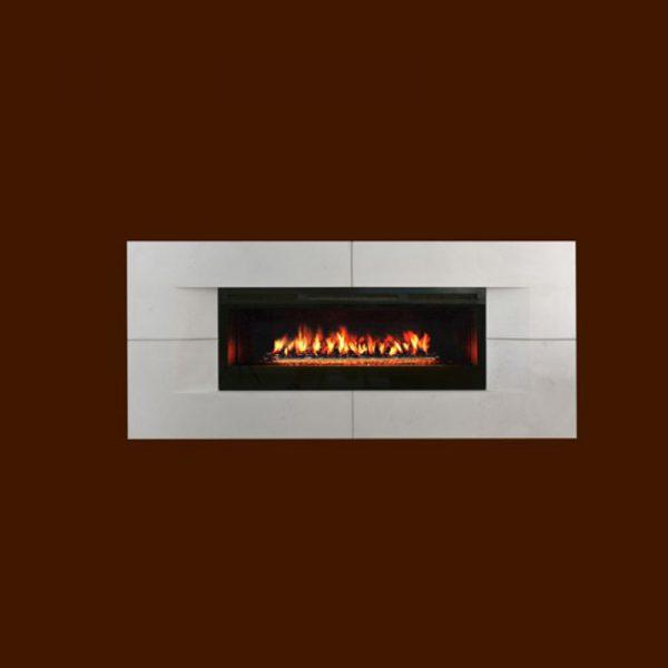 Park Avenue Surround Stone Fireplace Mantel | National Home Comfort
