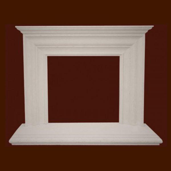 Princeton Stone Fireplace Mantel | National Home Comfort