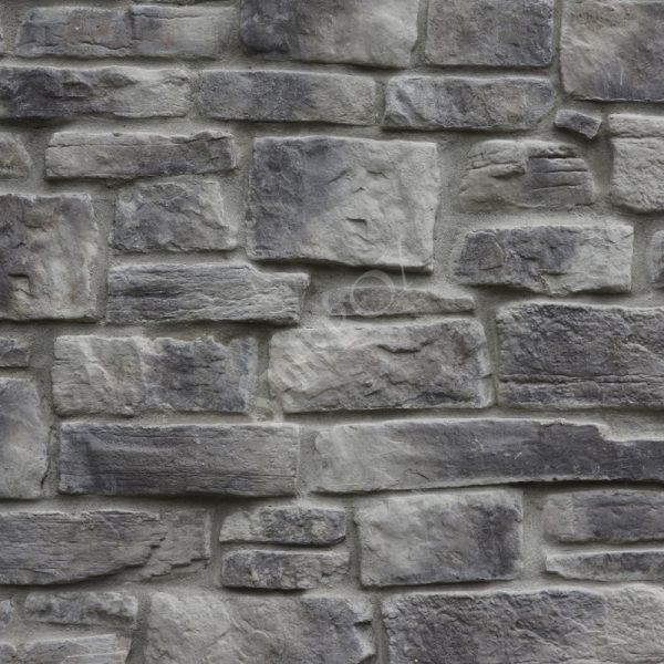 StoneROX Cobble Stone Loyalist Grey Stone Veneer | National Home Comfort