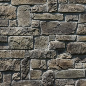 StoneROX Cobble Stone Meaford Mist Stone Veneer | National Home Comfort