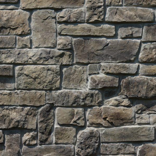 StoneROX Cobble Stone Meaford Mist Stone Veneer | National Home Comfort