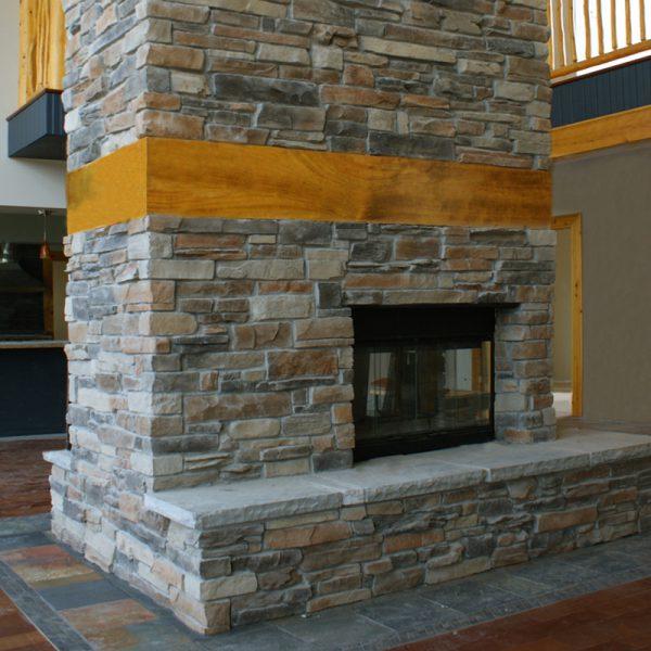 StoneROX Dry Stack Mountain Ledge Stone Veneer   National Home Comfort