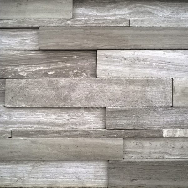 StoneROX Natural Stone Bianco Wood Stone Veneer | National Home Comfort