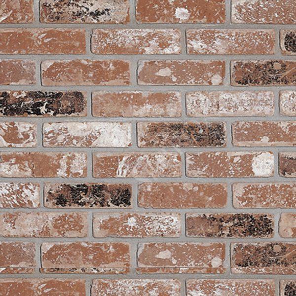 StoneROX Thin Clay Brick Veneer Sacramento Rustic | National Home Comfort