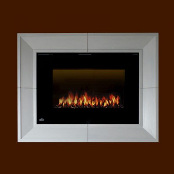 Times Square Surround Stone Fireplace Mantel | National Home Comfort