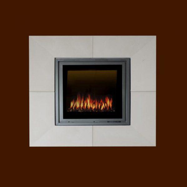 Tribecca Grand Surround Stone Fireplace Mantel | National Home Comfort