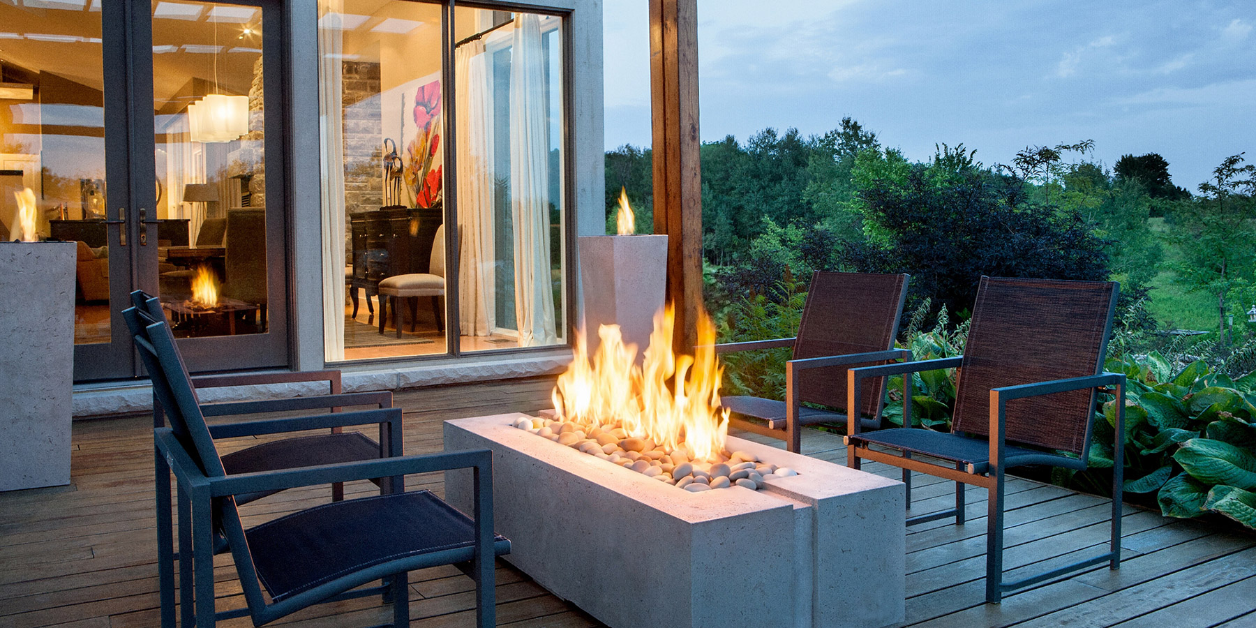 Outdoor Fireplaces Toronto Showroom